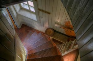 Alesund Norway Alnes Lighthouse Stairs on God&osla by danporter