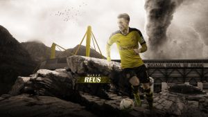 Marco Reus 2015/16 Wallpaper by RakaGFX