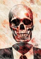 Your Skull Is Red by AustenMengler