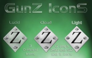 GunZ IconS by BaNaNA-BOi