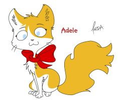 Adele Cat by ChibiTorra