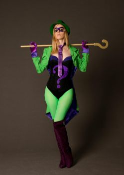 The Riddler by AsheRogue