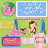 Pack PNG ''Crayola's Park'' by imabelopez