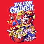 Falcon Crunch by LuluDubYou