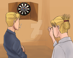 Darts by Perfectlykawaii93