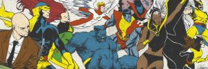 Bronze Age X-Men for Blastoff Comics - 2012 by elena-casagrande