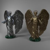 Angel ( 3d object ) by viiik33