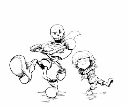 Undertale Dancing All Night 4 by ClydeWuts