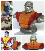 colossus bust by camillo1988
