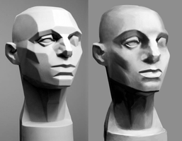 Face Plane Study by Spikings