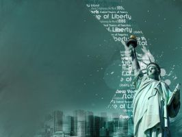Statue of liberty by Greenma