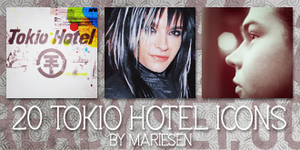 Icons: Tokio Hotel set11 by Mariesen