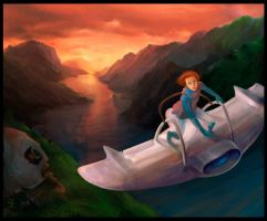 nausicaa flight by psmonkey