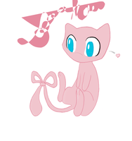 Mew the Adorable Pokemon by Lunar-Stars