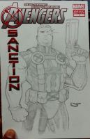 sketch cover of Cable by Sajad126