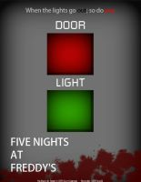 Five Nights at Freddy's Poster by Tesla51