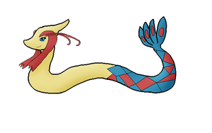 Mara The Milotic (Finished Attempt) by Hrotto