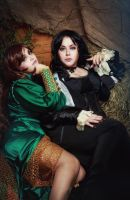 The Witcher Wiedzmin cosplay: Yennefer and Triss by alberti
