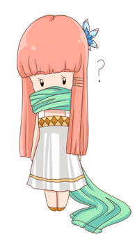 Over-sized Green Scarf by artycomicfangirl