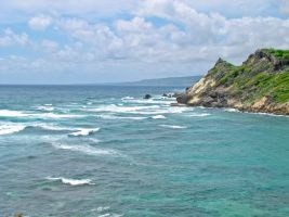 Barbados Cliffs 1 by Retoucher07030