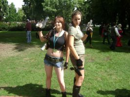 Black Lagoon vs Tombraider by Naez