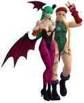 MORRIGAN AND CAMMY by LELERK