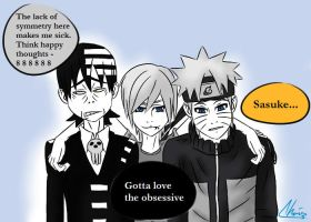 Gotta Love the Obsessive by LoveToTheCucumber