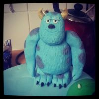Fondant Sully by AdaBerry