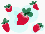 Strawberry Practice by SebScribbles