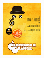 A Clockwork Orange - Re-release poster by SimonDiff
