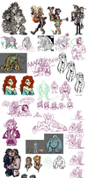 Oodles of Doodles by Kayzig