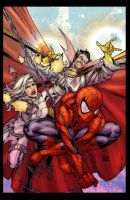 BA- Avenging Spider-man by Creation-Matrix
