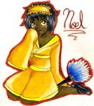 Master Saruwatari's OC Noel(traditional) by jazzy2cool