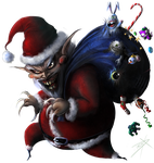 Santa Claws by D3RX