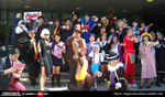 Professor Layton VS Ace Attorney at AX 2015 by KatyMerry