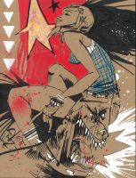 Star Girl by JimMahfood-FoodOne