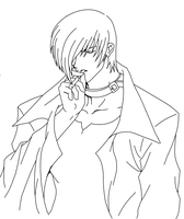Iori Yagami that smokes by toto1029