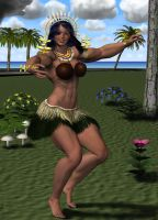 Kiribati Dance 1 of 3 by MuscleWomen-Planet