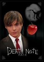 Death Note Movie Poster- Light by risenglory