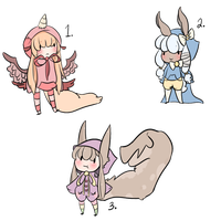 Adopts Batch #2  CLOSED by PaopuDestinies