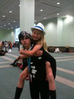 Anime Expo 2012 Kid and Patty by Fainting-Ostrich