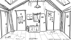 Roommate wanted common space concept 2 by Captainfusion