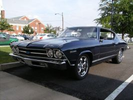 69' Chevelle by Madame-Fluttershy