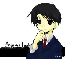 Artemis Fowl by neneno