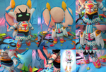 Gatchaman Crowds: Hijime Suit Ver. Plushie by frillycarnival