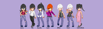 D.Gray-Man Pixel art by Mikirana