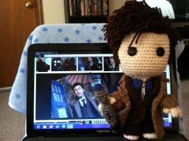 The 10th Doctor Sackboy Doll 1 by hime-yukihyou