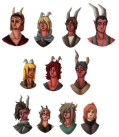 Them Guild Kids (and infiltrators) by ElithianFox