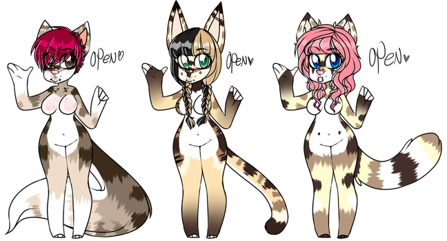 Feline adoptables Auction! .:Open:. by Niut-LilJazzy