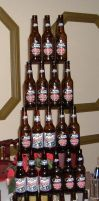 Beer Pyramid by Iceman31